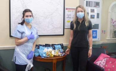 Donation from staff at M&S Skipton